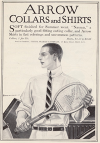 Arrow Shirt ad from 1912