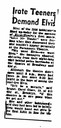 New York Journal-American November 16 1956