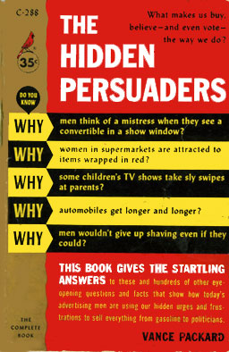 Hidden Persuaders front cover