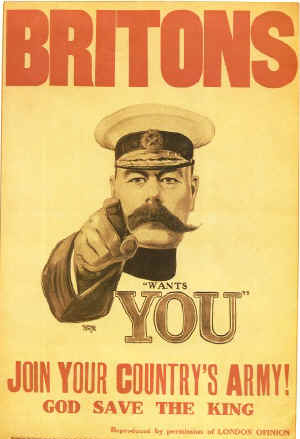 Kitchener recruitment poster